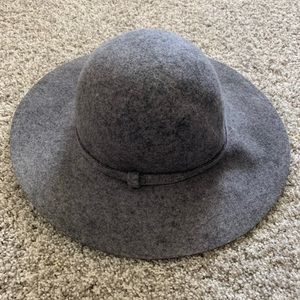 Phase 3 charcoal grey wool hat